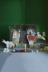Studio Roof Pop-Out Card: 'Bosdieren' van Studio Roof