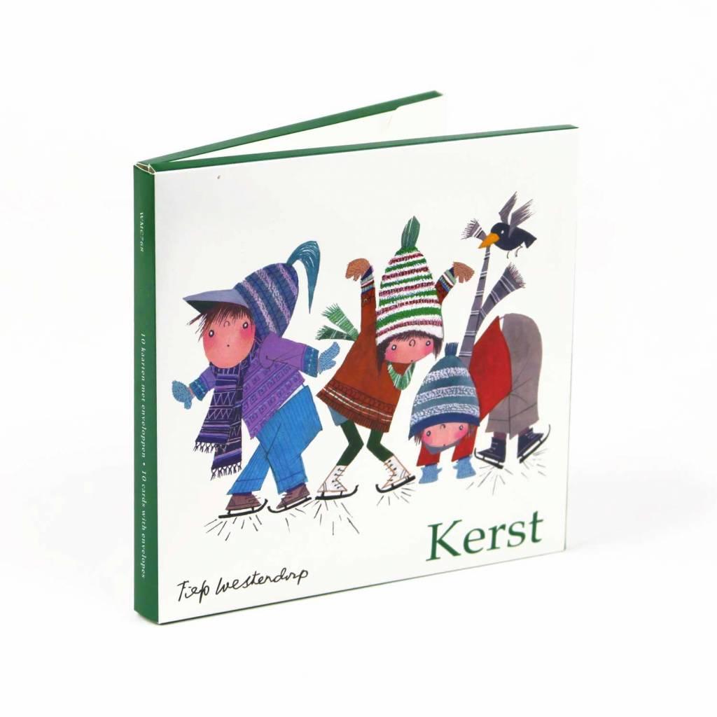 Bekking & Blitz Ansichtkaartenmapje, 'Kerst' - Fiep Westendorp