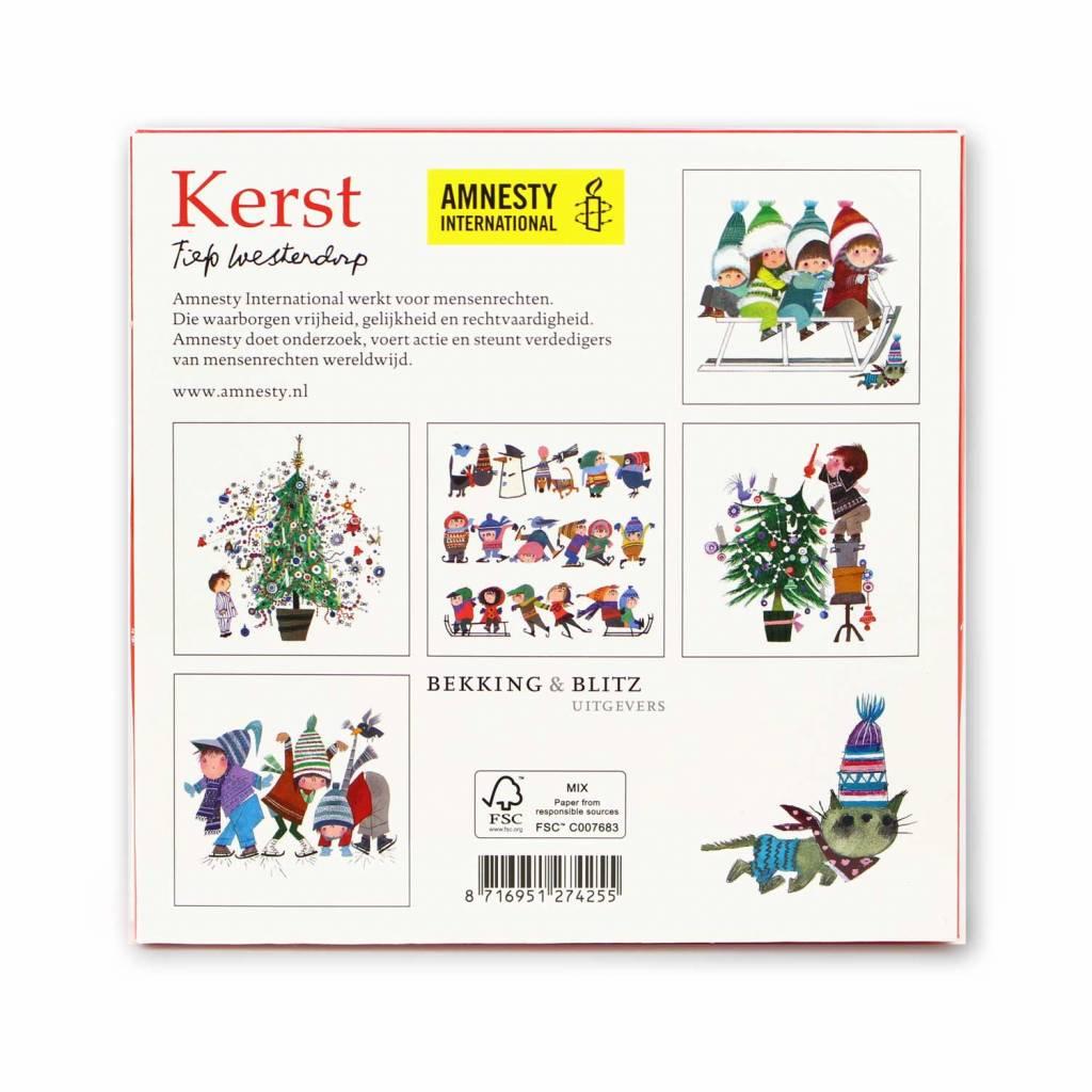 Bekking & Blitz Ansichtkaartenmapje, Kerst /  Amnesty - Fiep Westendorp