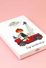 Keltum Fiep Westendorp 'Kraanwagen' Kinderbestek Junior, 4-delig, van Keltum