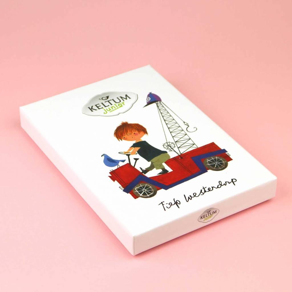 Keltum Children's Cutlery 'The Red Tow Truck', set of 4