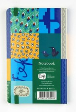 Bekking & Blitz Softcover Notebook A6,  'Peacock' - Fiep Westendorp