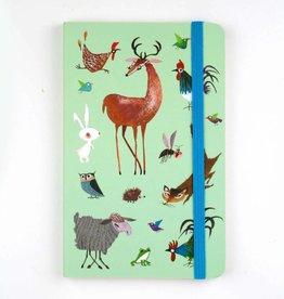 Bekking & Blitz Softcover Notebook A6,  'Animals'