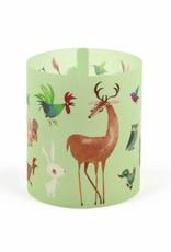 Bekking & Blitz Candle Light Holder 'Animals' (set of 3) - Fiep Westendorp