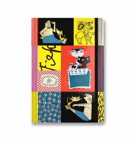 Bekking & Blitz Softcover Notebook A5, 'Colourful Fifties'