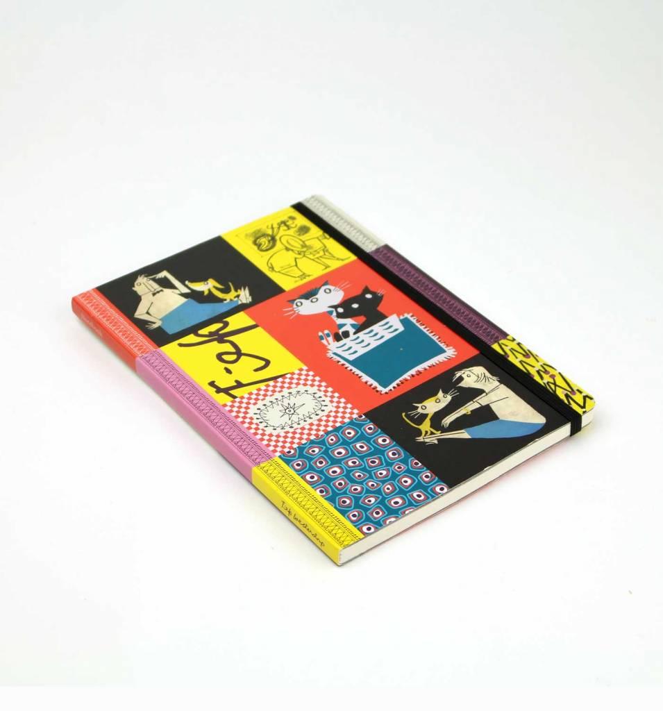 Bekking & Blitz Fiep Westendorp Softcover Notebook A5, 'Colourful Fifties'