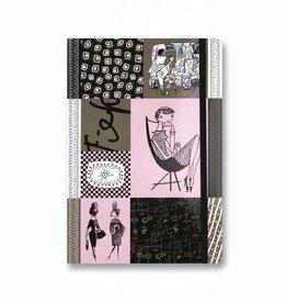 Bekking & Blitz Notitieboekje A5,  'Graphite' - Fiep Westendorp
