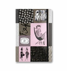 Bekking & Blitz Softcover Notebook A5, 'Graphite'