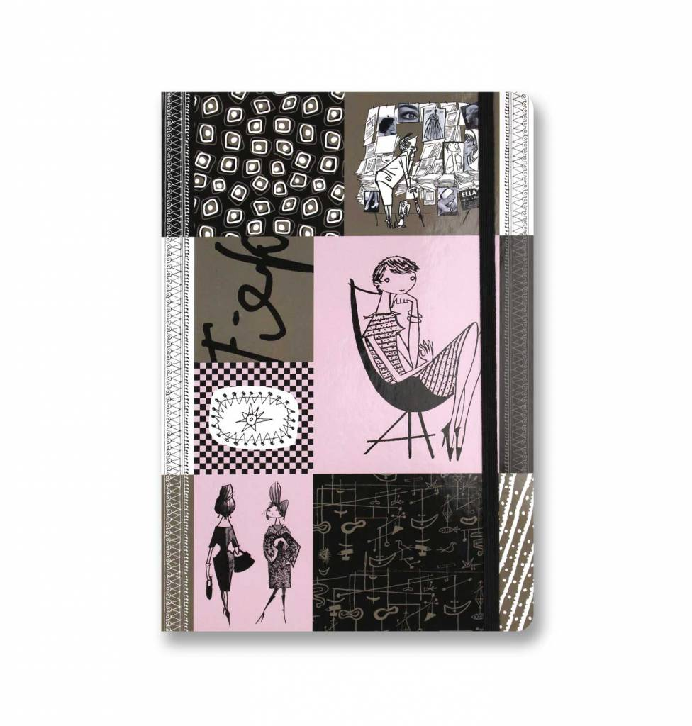 Bekking & Blitz Fiep Westendorp Notitieboekje A5, 'Graphite'