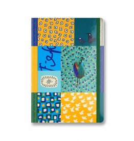 Bekking & Blitz Softcover Notebook A5, 'Peacock'