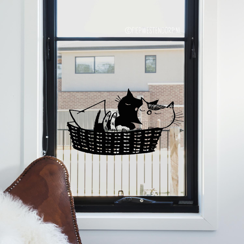 pim en pom raam tekening fiep westendorp