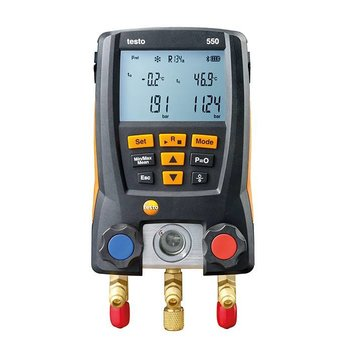 testo 550 set digitale manifold