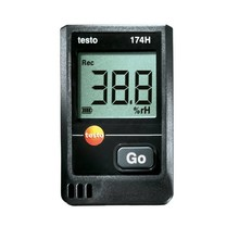 testo 174 H set temperatuur en vocht datalogger
