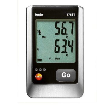 testo 176 T4 temperatuur datalogger