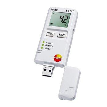 testo 184 G1 - Schokken, relatieve vocht en temperatuur datalogger