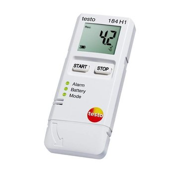 testo 184 H1 relatieve vocht en temperatuur datalogger