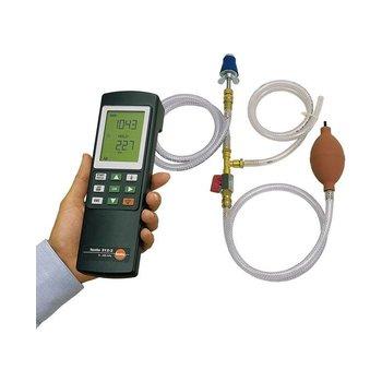testo 312-2 drukmeter voor gas en waterinstallateurs