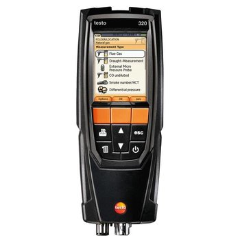 testo 320 Bluetooth set rookgasanalyzer