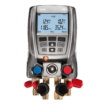 testo 570-2 set digitale manifold
