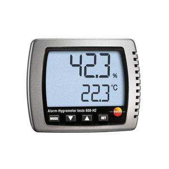 testo 608-H1 thermo-hygrometer met alarmfunctie