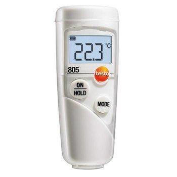 testo 805 mini infraroodthermometer, klein en handig en met hoge nauwkeurigheid