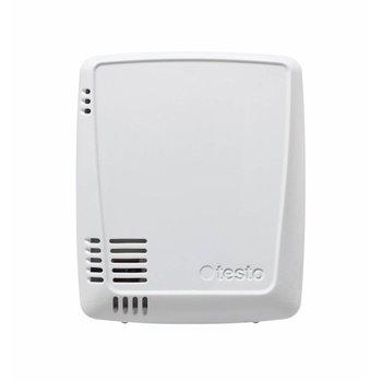 WiFi datalogger met geïntegreerde temperatuur- en vochtsensor en 2 aansluitingen voor voelers