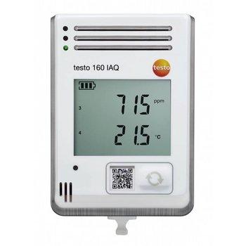 WiFi datalogger met display en geïntegreerde sensoren voor temperatuur, vocht, CO2 en atmosferische druk