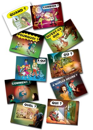 French question word posters