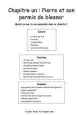 Conte-inuons! Teacher's Manual