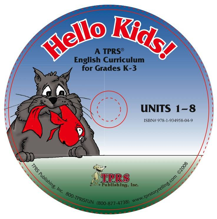 Hello kids! Units 1-8 on CD