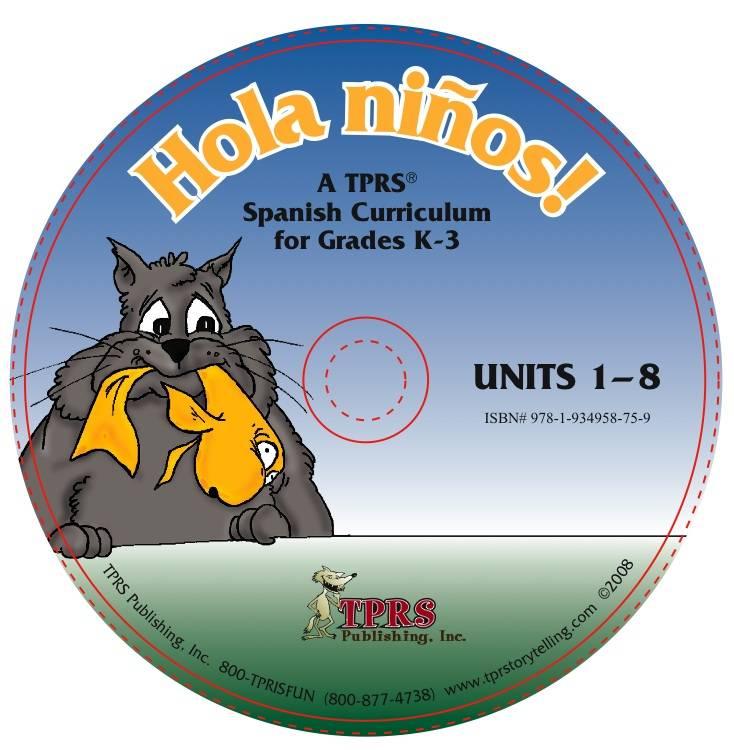 ¡Hola niños! Units 1-8 on CD
