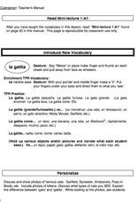 ¡Cuéntame! Teacher's Manual Premium Edition