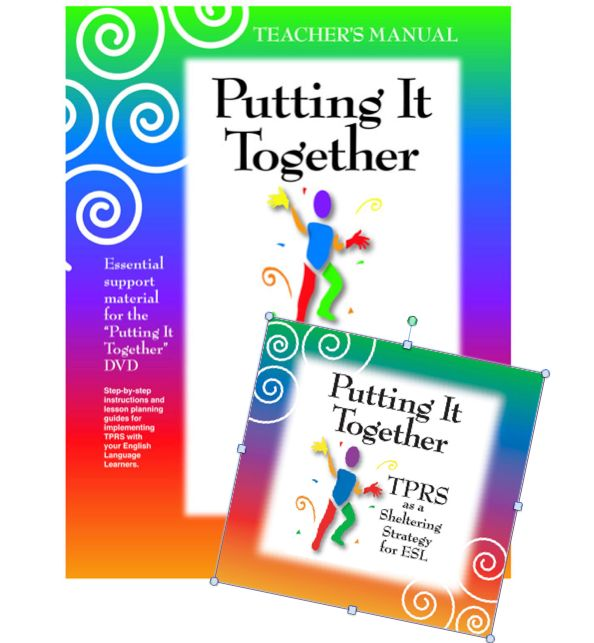 "TPRS-manual and DVD ""Putting it Together"""