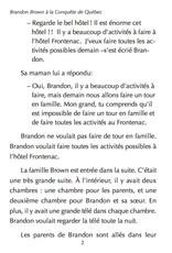 Brandon Brown à la conquête de Qu̩ébec