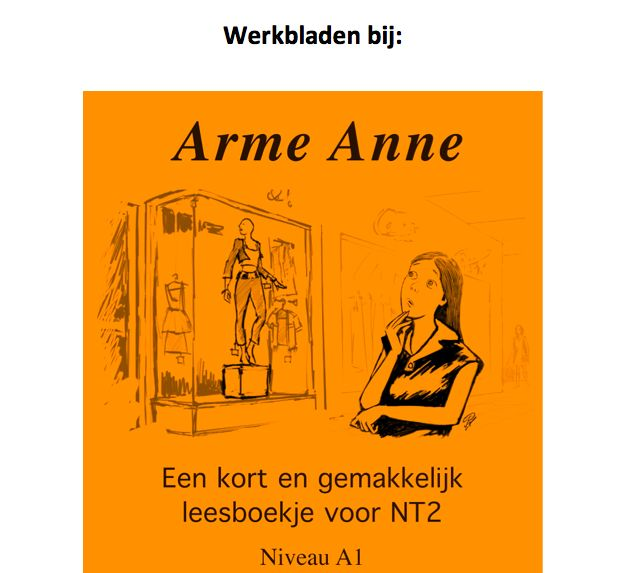 Arme Anne - Activity masters