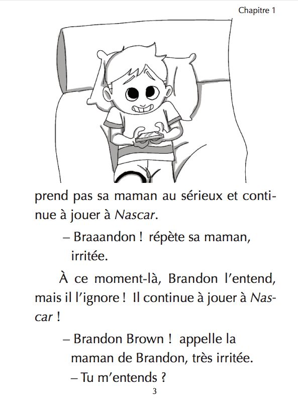 Brandon Brown dit la vérité