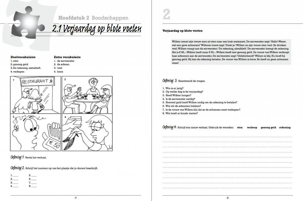 Het hele verhaal - Student Workbook