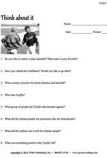 Felipe Alou (English)  - Teacher's Guide on CD