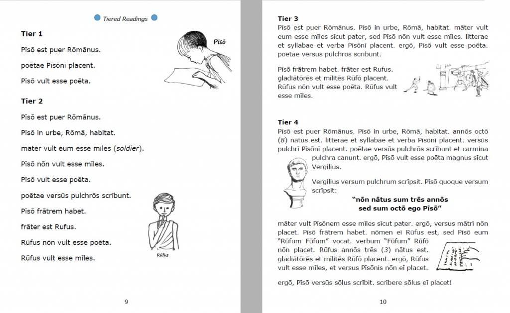 Pisō Ille Poētulus - Werkboek