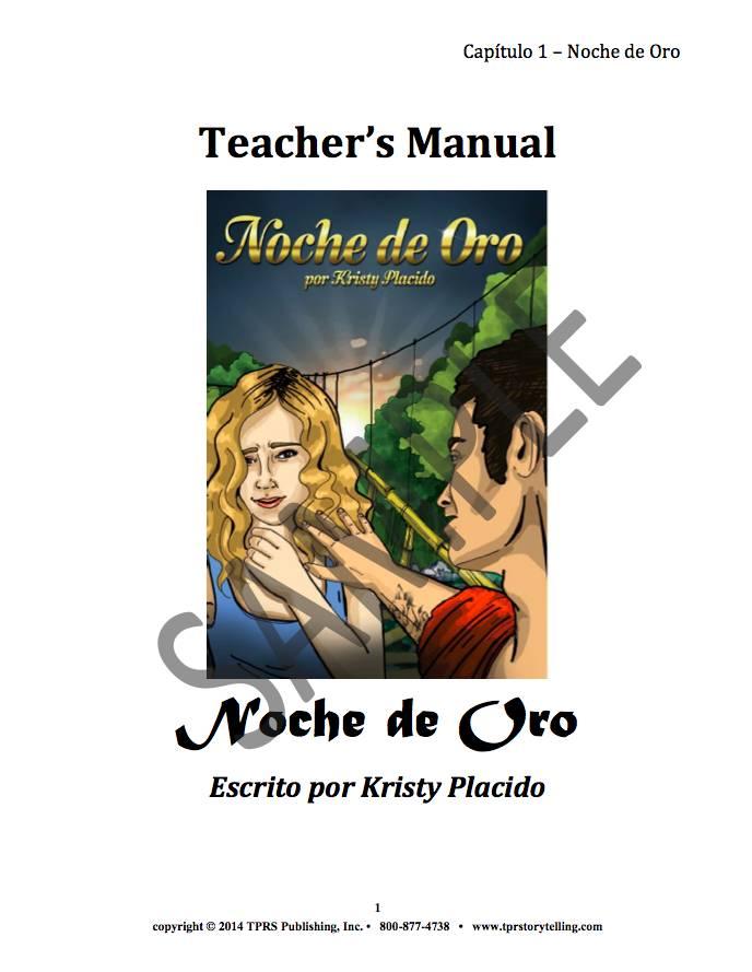 Noche de oro - Teacher's Guide