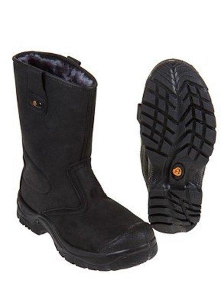 Km Veiligheidslaarzen gevoerd S3 zwart