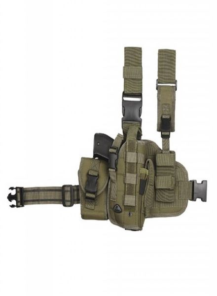 Hip molle leg holster links