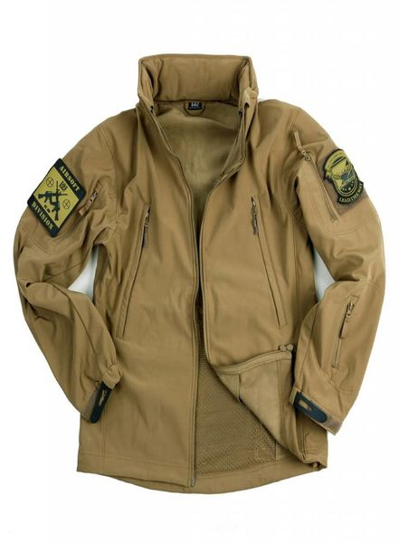 Soft shell jack tactical Khaki
