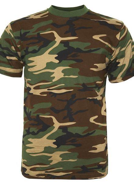 Woodland Camouflage t-shirt