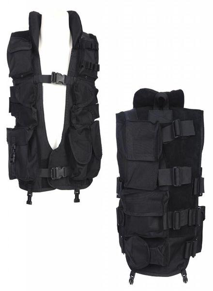 Tactical vest met kraag