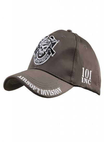 Baseball cap 101 INC Airsoft division Dark Earth