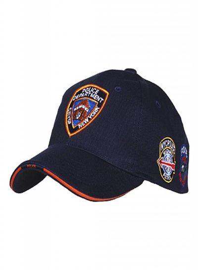 Baseball cap NYPD patches
