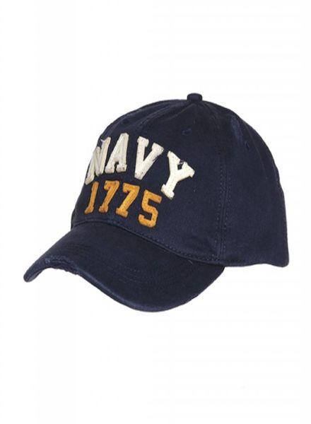 Baseball cap stone washed navy 1775