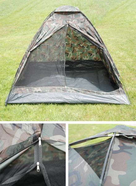 Tent camouflage 2 persoons
