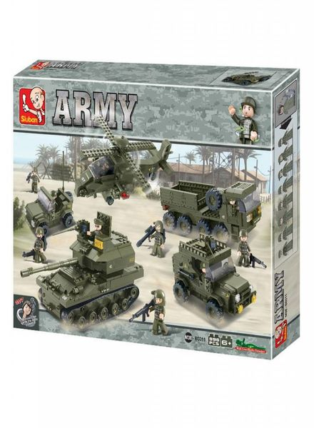 Sluban Army set M38-B0311